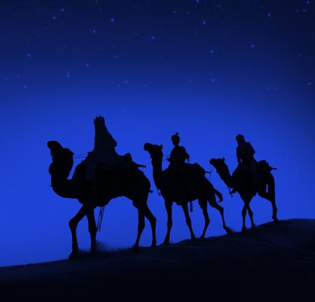 reyes magos: Concepto Reyes Magos Camello Desierto Viaje Bel�n