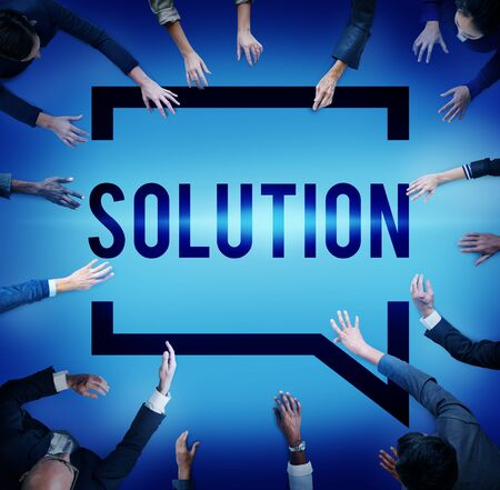 solving problem: Solution Solving Problem Strategy Answer Concept