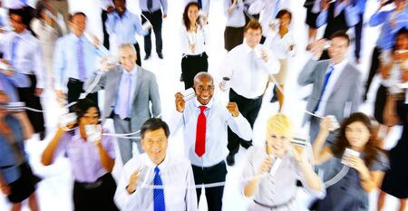 large group of business people: Large Group of Business People Communication Concept
