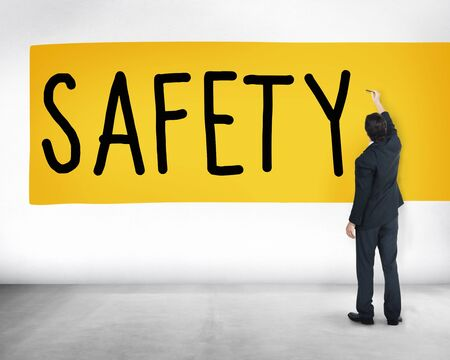 safe: Safety Data Protection Network Security Safe Concept
