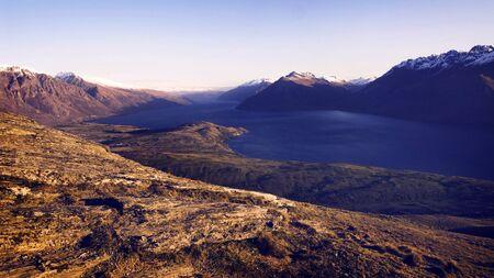 marvelous: Marvelous Lake Wakatipu Mountain Range Concept