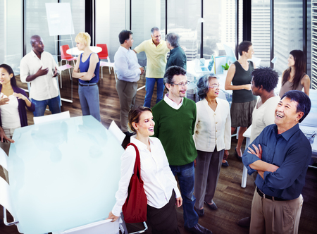 persona de pie: Gente de negocios equipo de trabajo en equipo Colaboraci�n Concepto