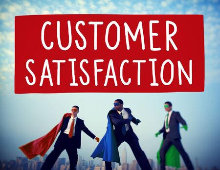 satisfaction: Customer Satisfaction Service Support Assistance Concept