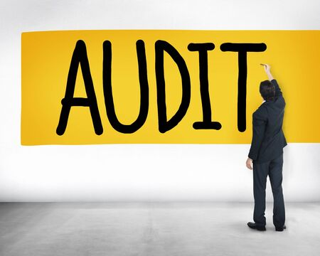 audit: Audit Accounting Bookkeeping Finance Inspection Concept