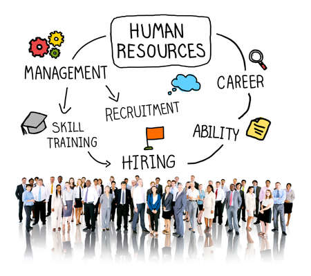 skills diversity: Human Resources Career Hiring Job Concept