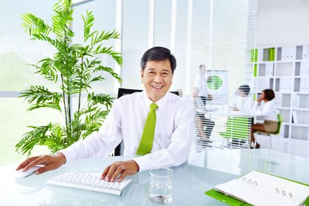 green office: Green Business Office Manager Planning Strategy Concept
