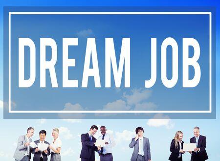 aspiration: Dream Job Occupation Career Aspiration Concept