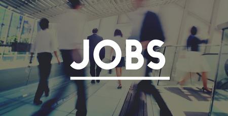 채용 취업 경력 직업 응용 프로그램 개념