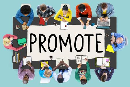 Promote Marketing Plan Commercial Promotion Concept