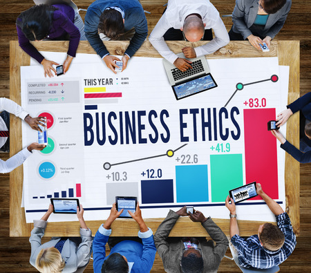 philosophy: Business Ethnics Philosophy Responsibility Honesty Concept Stock Photo