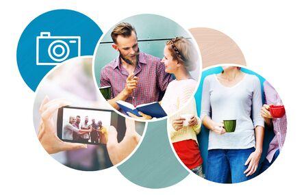 socializing: Concepto Actividad Comunicaci�n de las personas que socializan Discusi�n