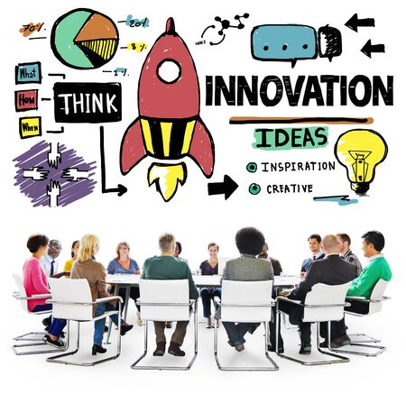 creativity and innovation: Innovation Business Plan Creativity Mission Strategy Concept