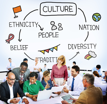 nation: Culture Ethnicity Diversity Nation People Concept
