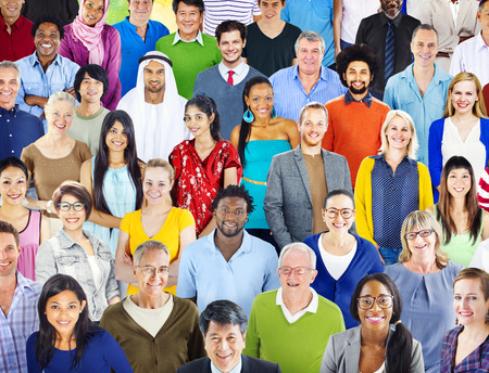 mixed race person: Diverse Diversity Ethnic Ethnicity Togetherness Unity Concept