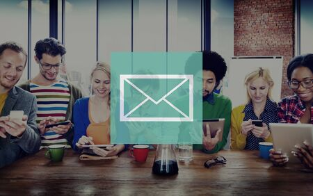 mail man: Email Mail Messaging Online Internet Concept