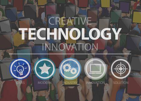 innovacion: Creative Technology Innovation Medios Digital Concept