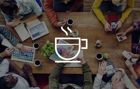 refreshment: Break Coffee Beverage Refreshment Leisure Relaxing Concept