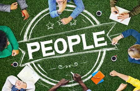 humanity: People Human Humanity Individuality Person Concept Stock Photo