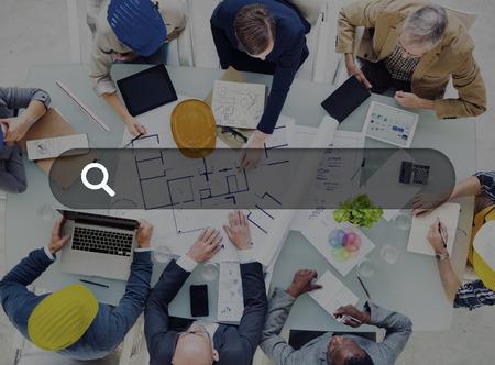 organization design: Search Box Web Online Technology Internet Website Concept