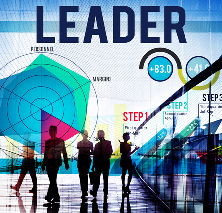 Business and leadership concept Stock Photo