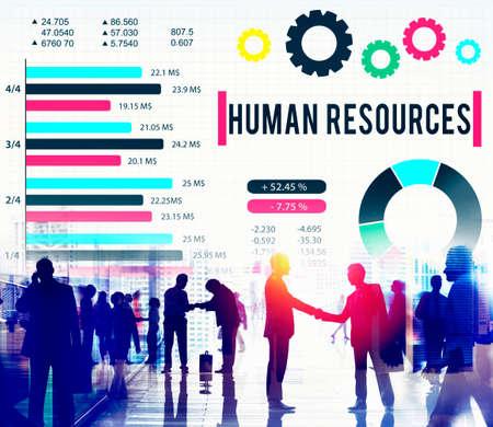 career plan: Human Resources Employment Career Plan Concept Stock Photo