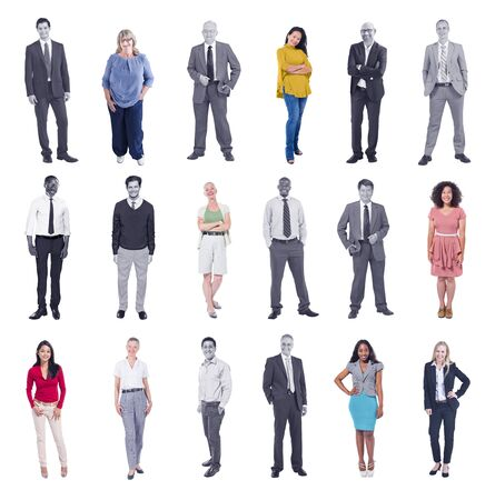 business casual: Diverse People Happiness Friendship Cheerful People