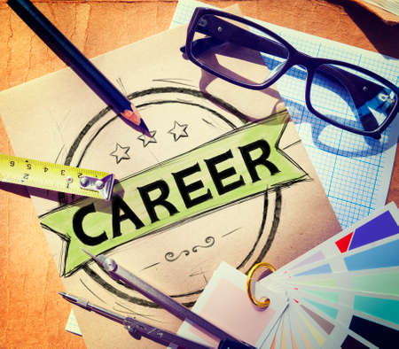 job: Career Job Goal Expertise Skill Talent Concept