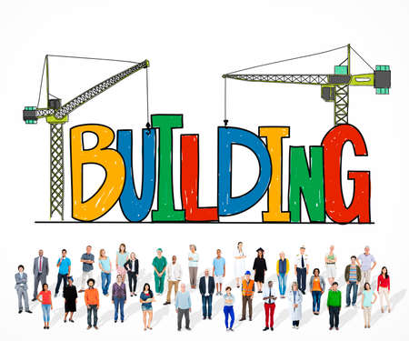 stability: Building Business Strategy Stability Success Concept