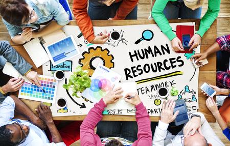 business resources: Human Resources Employment Job Recruitment Profession Concept