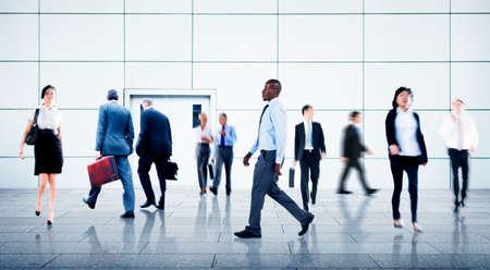 hustle: Uomini d'affari Vita cittadina Hustle Hurry Occupazione Concetto