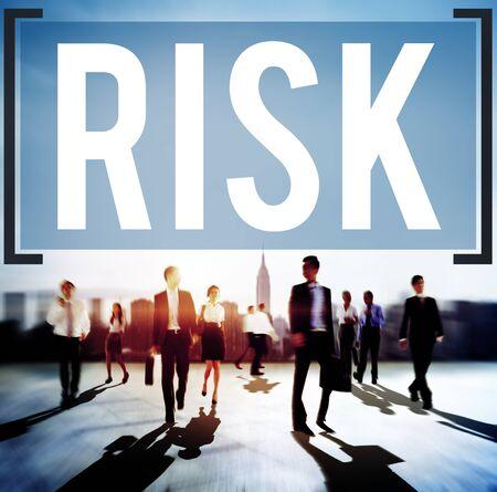 gamble: Risk Dangerous Hazzard Gamble Unsure Concept Stock Photo