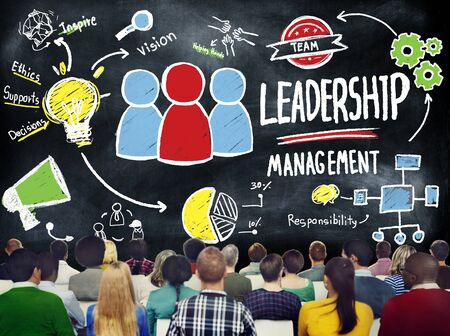 manager: Diversity Casual People Leadership Management Seminar Concept