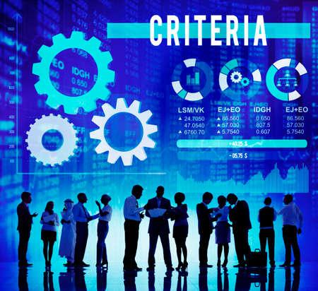 edicto: Criterios de Información Reglamento Regla Instrucciones Concepto Foto de archivo