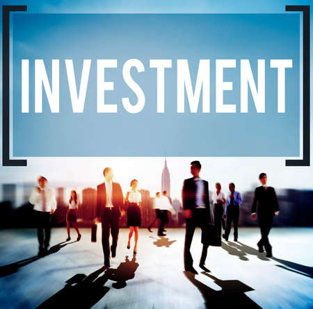 interest: Investment Financial Economy Interest Risk Concept