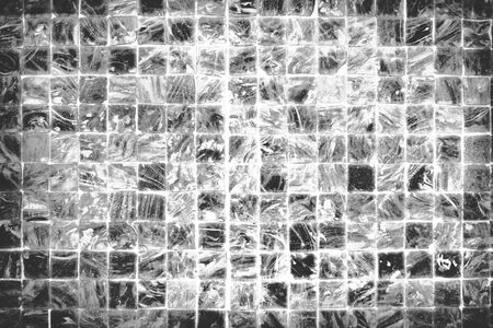 scratched: Ceramic Tile Wall Scratched Background Texture Concept