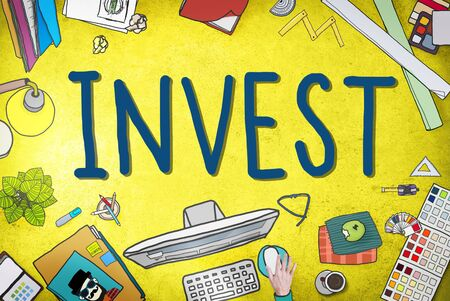 revenue: Invest Investment Fund Revenue Income Concept