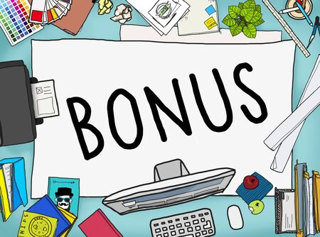 Bonus Benefit Income Incentive Profit Concept