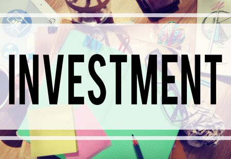 investing: Investment Economy Financial Investing Income Concept