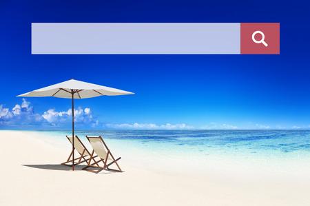 Zoekvak Online Web Browsing Zoeken Concept Stockfoto