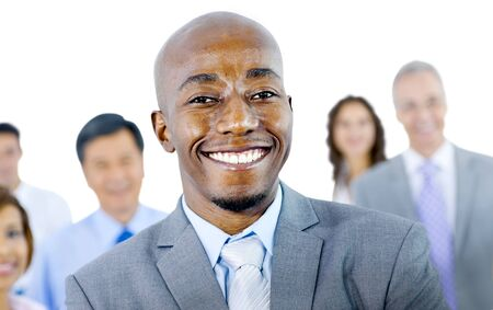 large group of business people: Large Group of Business People Confidence Concept Stock Photo