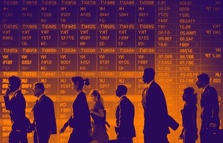 bursatil: Grupo de hombres de negocios Stock concepto de mercado