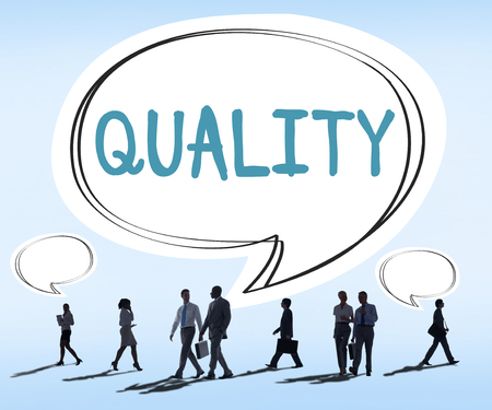 best quality: Quality Guarantee Grade Excellence Level Concept Stock Photo