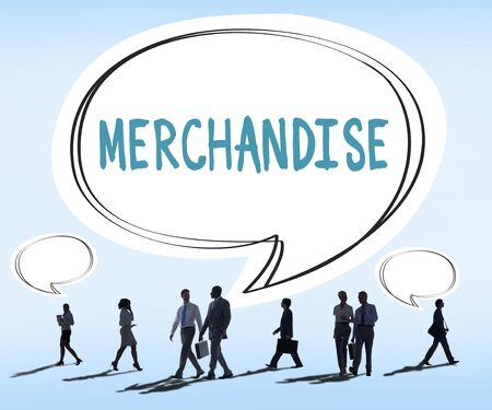 retail shopping: Merchandise Marketing Commercial Shopping Retail Concept