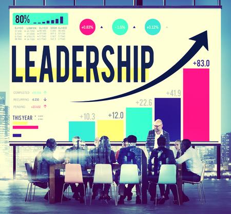 Leadership Learder Lead Management Coach Concept