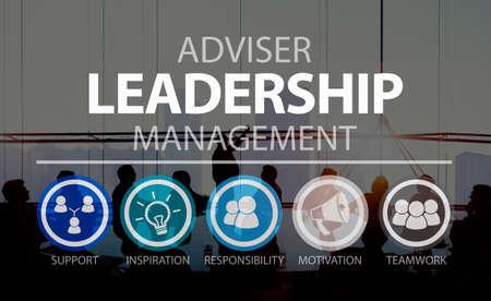 corporate women: Adviser Leadership Management Director Responsibility Concept