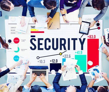 privacidad: Protección Seguridad Secreto Privacidad Firewall Guardia Concepto Foto de archivo