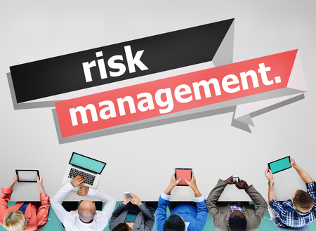 risk: Risk Management Investment Planning Strategy Concept Stock Photo