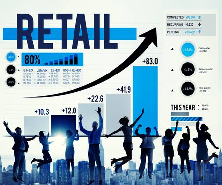 purchase: Retail Commerce Consumer Purchase Shopping Concept