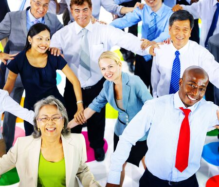commuter: Business People Commuter Group Team Corporate Concept