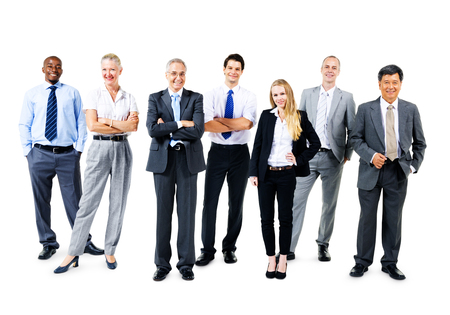 organised group: Business People Corporate Team Colleague Concept Stock Photo